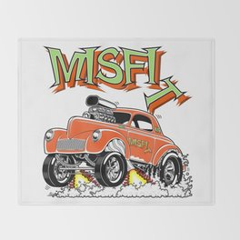 MISFIT rev 1 Throw Blanket