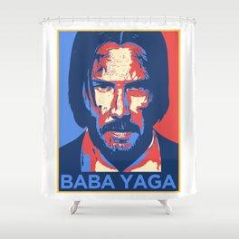 John Wick Baba Yaga Shower Curtain