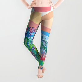 Wild West Desert Leggings