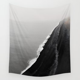 Black Sand Beach, Iceland Wall Tapestry