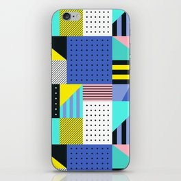 Patchwork Two iPhone Skin