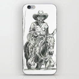 Mule Wrangler iPhone Skin