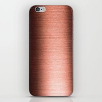 copper iPhone & iPod Skins featuring Copper by Robin Curtiss