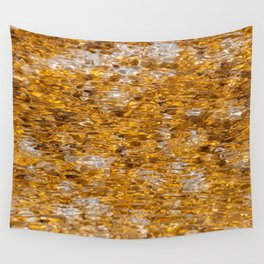 Canary Spring Orange Wall Tapestry