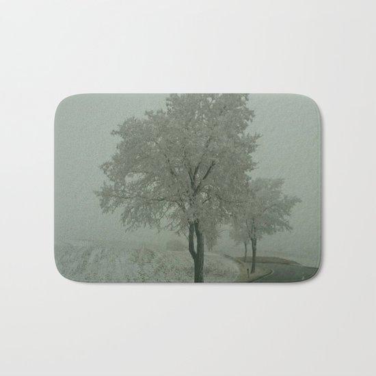 Winter Landscape - Austria Bath Mat