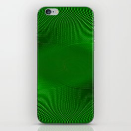 Not easy being Green iPhone Skin