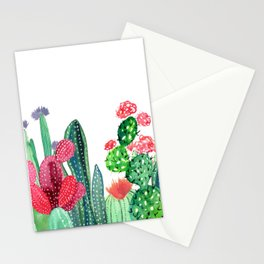 A Prickly Bunch 4 Stationery Cards