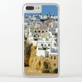 Albufeira old town, Portugal Clear iPhone Case