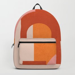 Abstraction_SHAPES_COLOR_Minimalism_003 Backpack