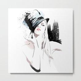 Fashion Painting #5 Metal Print