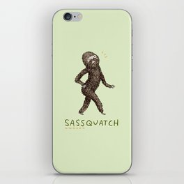 Sassquatch iPhone Skin