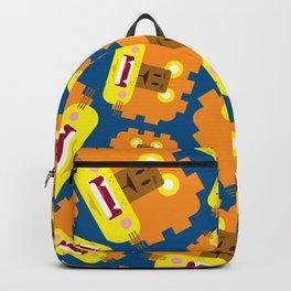 Cute Cartoon Lion Pattern Backpack