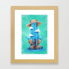 Intrusive Sky Framed Art Print