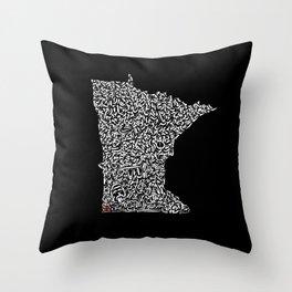 State Secrets - Minneota Throw Pillow