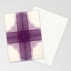 Tubular Cross Stationery Cards