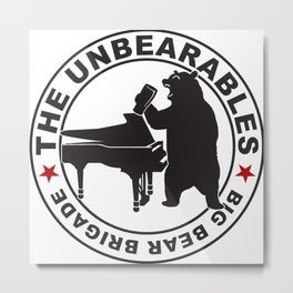 The UnBearables Metal Print