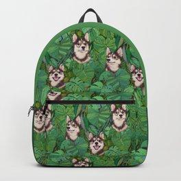 Pomsky Garden Backpack