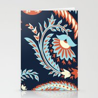 flora Stationery Cards featuring Flora by Tracie Andrews