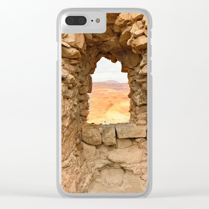 Judean Desert Clear iPhone Case