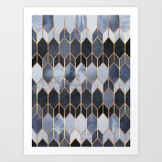 Stained Glass 4 Art Print