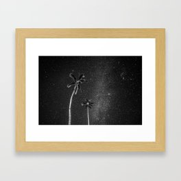 New moon in Kauai Framed Art Print