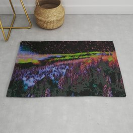 Abstract Forest III Rug