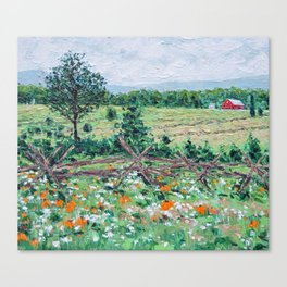 Gettysburg Farm Canvas Print