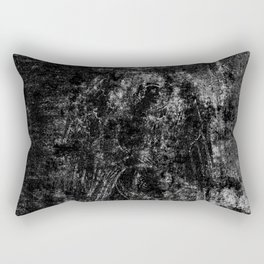 Black angel Rectangular Pillow