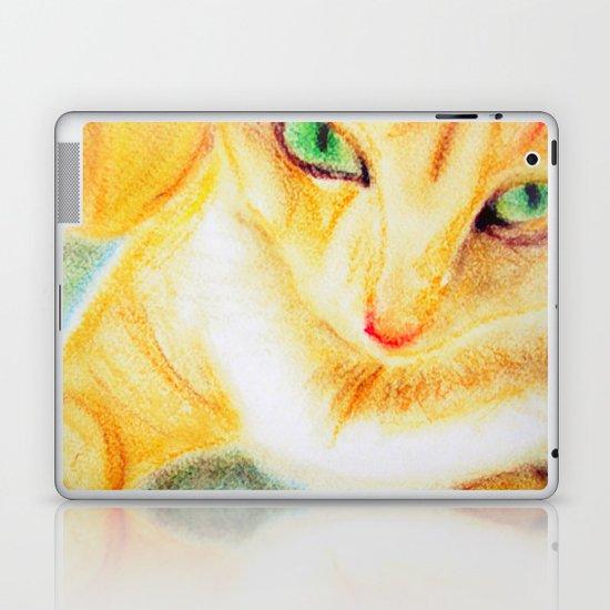 Mango Kitty Laptop & iPad Skin
