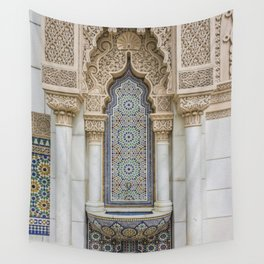 Moroccan Fountain Wall Tapestry