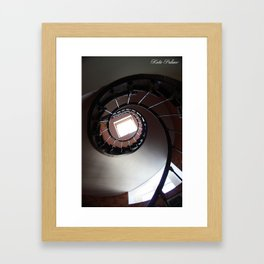 Spiral Staircase  Framed Art Print