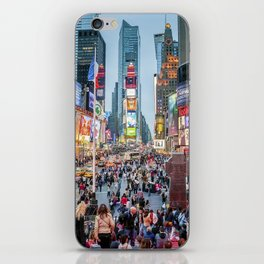 Times Square Tourists iPhone Skin