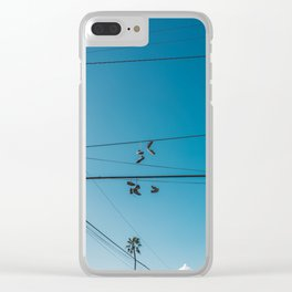 California Kicks Clear iPhone Case
