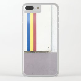No. 1, Basel Wall Clear iPhone Case