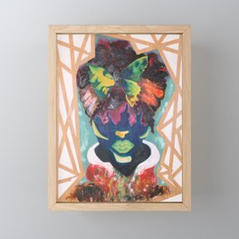 Buttered Anatomy Framed Mini Art Print