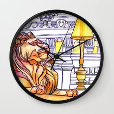 Love NYC's everything No.3 Wall Clock