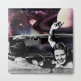 Road to the Moon !! Metal Print