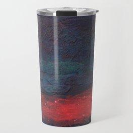 Bennett Red Dark Blue Travel Mug