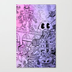 Funky Town pt. 1 Canvas Print