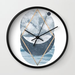 Cosmos art print Wall Clock