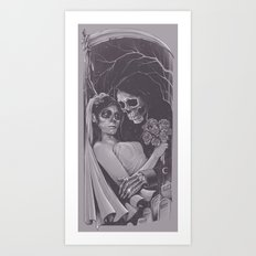 Death Won't Do Us Part Art Print