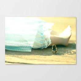 Alice's Escapades ~ Alice & The Chair II Canvas Print