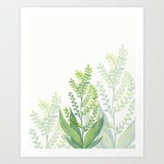 Botanical vibes 06 Art Print