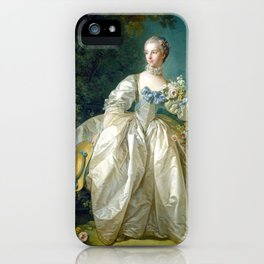 Madame Bergeret iPhone Case