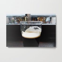 pint of Guinness Metal Print