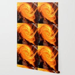 swirling flame Wallpaper
