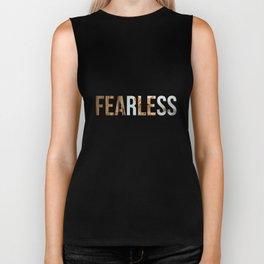 Fearless Motivation Design Biker Tank