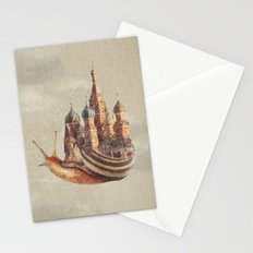 The Snail's Daydream Stationery Cards
