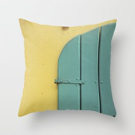 CARIBBEAN COLORS Throw Pillow