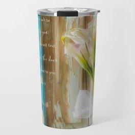 Calla Welcome* Travel Mug